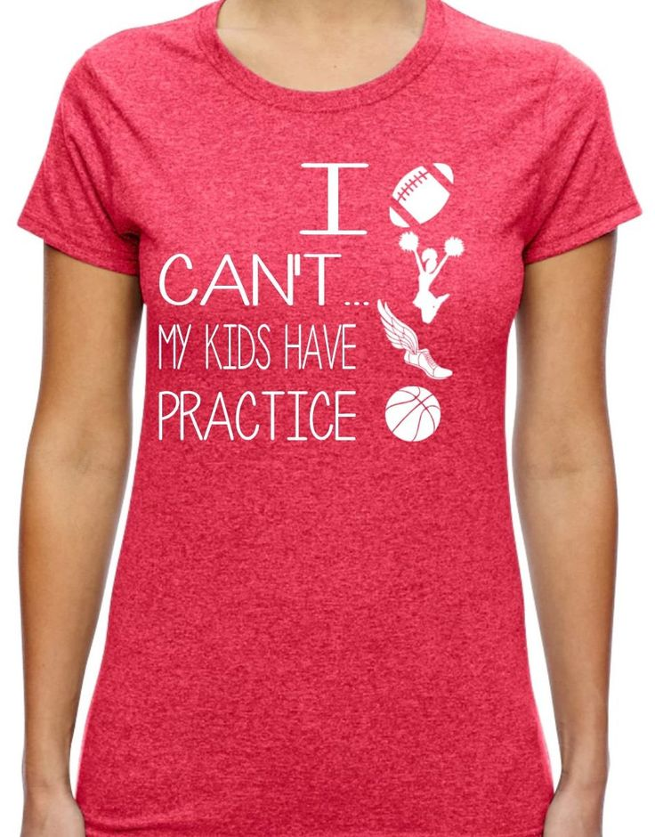 I Can't My Kids Have Practice; Graphic Tee; T-shirt;  trendy mom shirt; Mother's Day; Mom shirt; Sports Mom; Soccer Mom; baseball mom