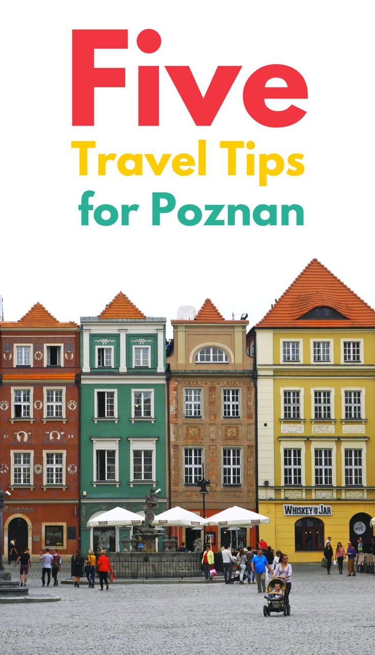 With an Interrail pass in our hands we took the train to the old city of Poznan, enjoyed it, and now pass on these five travel tips to you.