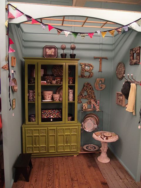 Booth - After by TheMosaicButterfly, via Flickr