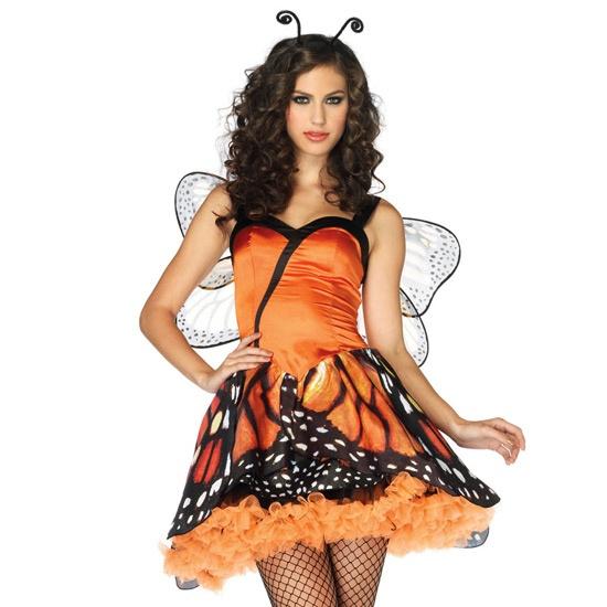 Disfraz de Mariposa monarca talla XS    Leg Avenue Lovely Monarch woman costume