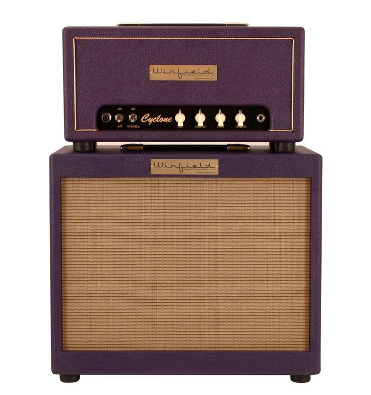 Winfield Cyclone Amplifier Head and 1X12 Cabinet, Purple
