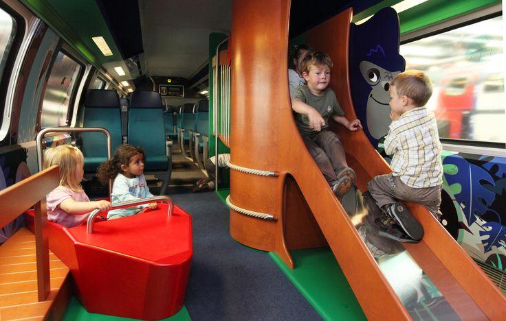 Im #TickiPark der #SBB wird die Reise für die Kinder zum Erlebnis und für die Eltern zum erholsamen Ausflug. Nachlesen im MILAN Magazine!