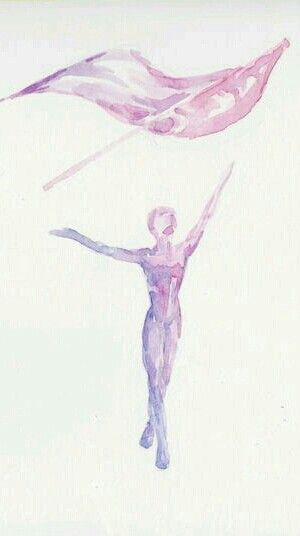 Color guard water color