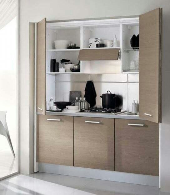 Piccole idee per piccole cucine Small ideas for small kitchens Pequeñas ideas…