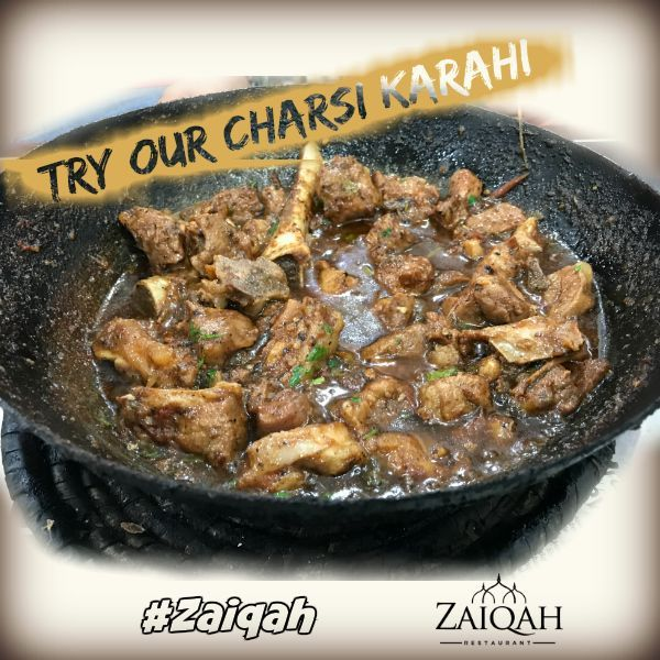 Best Indian Pakistani Halal Restaurant In Hounslow London Try Our Charsikarahi Only Zaiqah Contact Us Halal Halal Food Menu