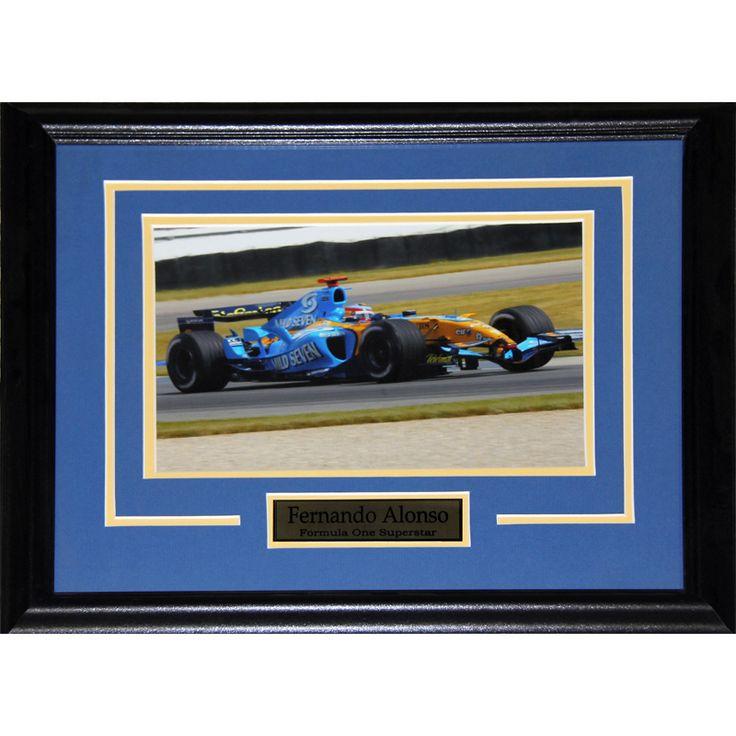 Midway Fernando Alonso Formula One 8x10-inch Frame