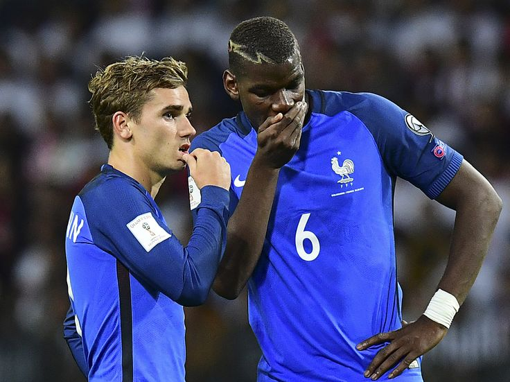 Manchester United transfer news: Antoine Griezmann reveals hunger to play with Paul Pogba at club level #manchester #united #transfer…