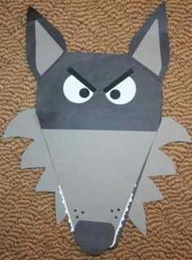 Opinion Writing Craft-ivity. Pig or Wolf? Whos side of the story do you believe? This lesson and craft is great for opinion writing and a bulletin board for older kiddos.