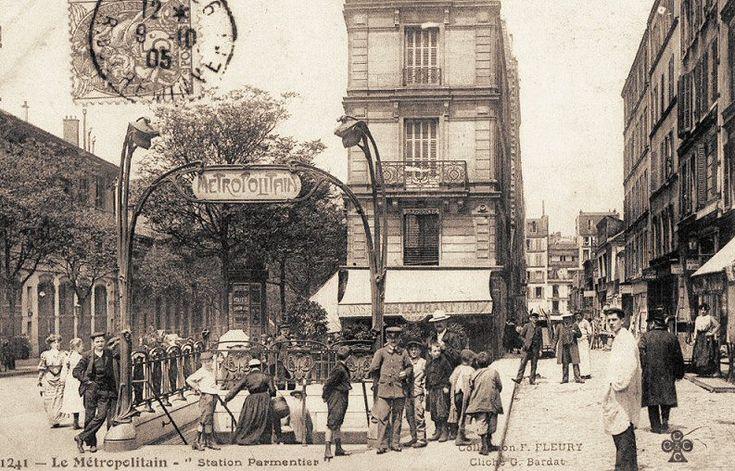 avenue Parmentier- Paris 10e/11e, 1900