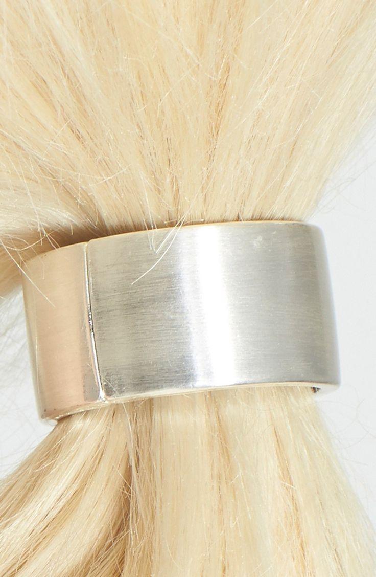 L. Erickson Cuff Ponytail Holder - gold