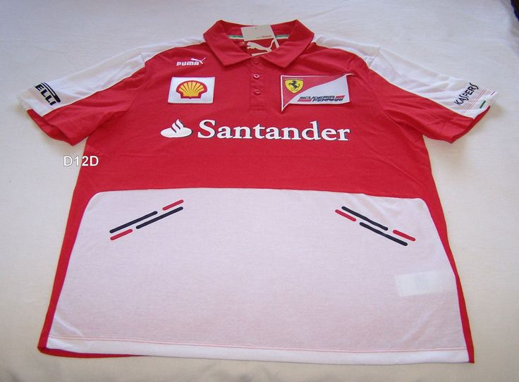 #Scuderia #ferrari #formula 1 mens red 2013 team polo shirt size xxl new,  View more on the LINK: http://www.zeppy.io/product/gb/2/351887579978/