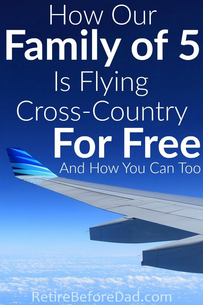 It's surprisingly easy to use travel rewards credit cards to build a stash of frequent flyer miles and hotel points for free travel. A free email course taught me the basics enabling our family of 5 to fly cross-country for free.