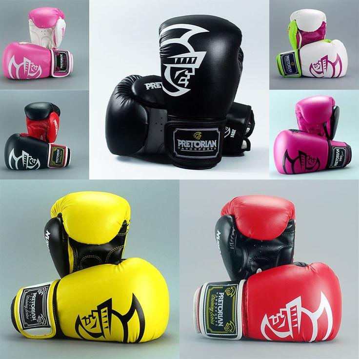 compare prices 10121416oz pretorian grant boxing gloves mma gear taekwondo fight kick mitts glove #muay #thai #gear