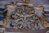 Guides du Patrimoine des Pays de Savoie - Saint Alban d'Hurtières - Détail de l'église http://www.gpps.fr/Guides-du-Patrimoine-des-Pays-de-Savoie/Pages/Site/Visites-en-Savoie-Mont-Blanc/Maurienne/Saint-Alban-d-Hurtieres