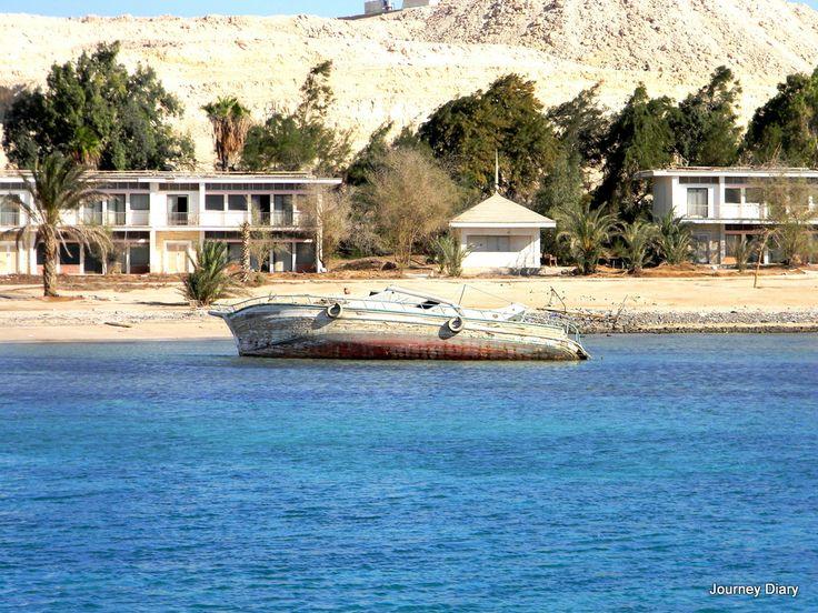 Boat in Hurghada