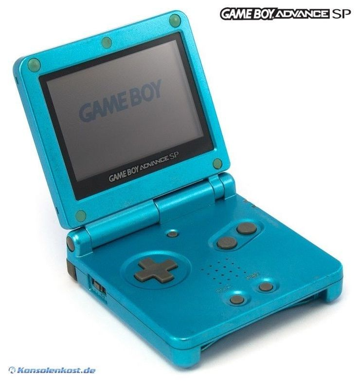 GBA console GBA SP incl. power supply #Surf Blue AGS-001 (US) (great condition) #Nintendo