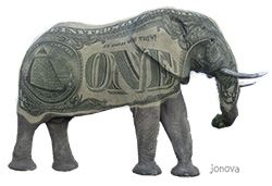 Nearly $1 billion a day to change the climate… the invisible vested elephant in the room