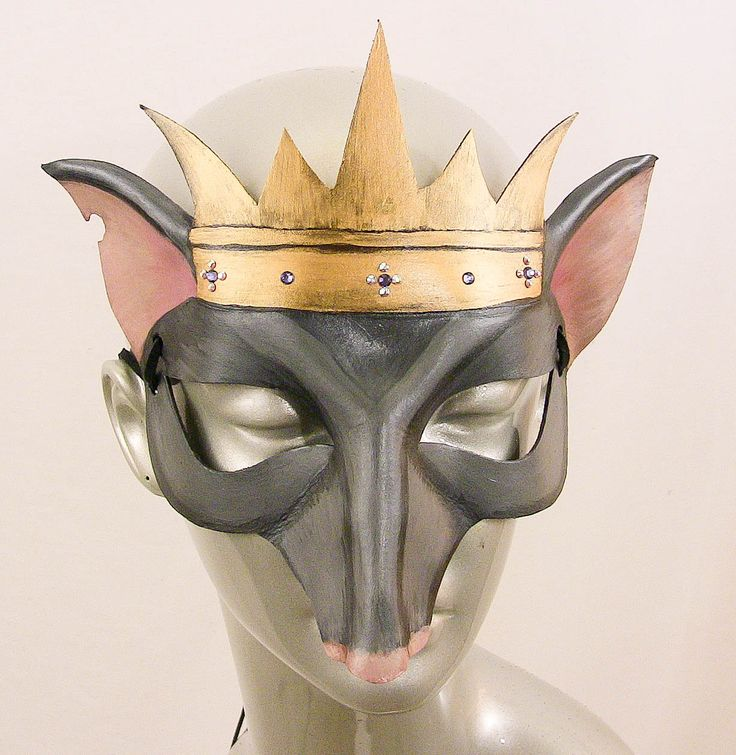 Rat King Leather Mask by kmickel on Etsy, $85.00