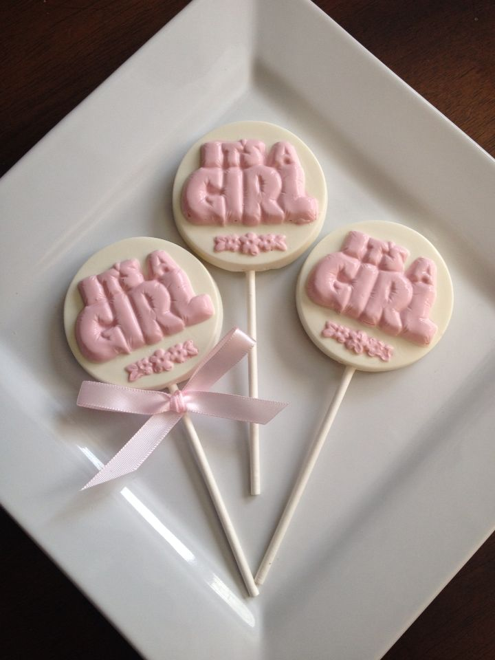 baby shower candy pink baby showers chocolate lollipops candy favors