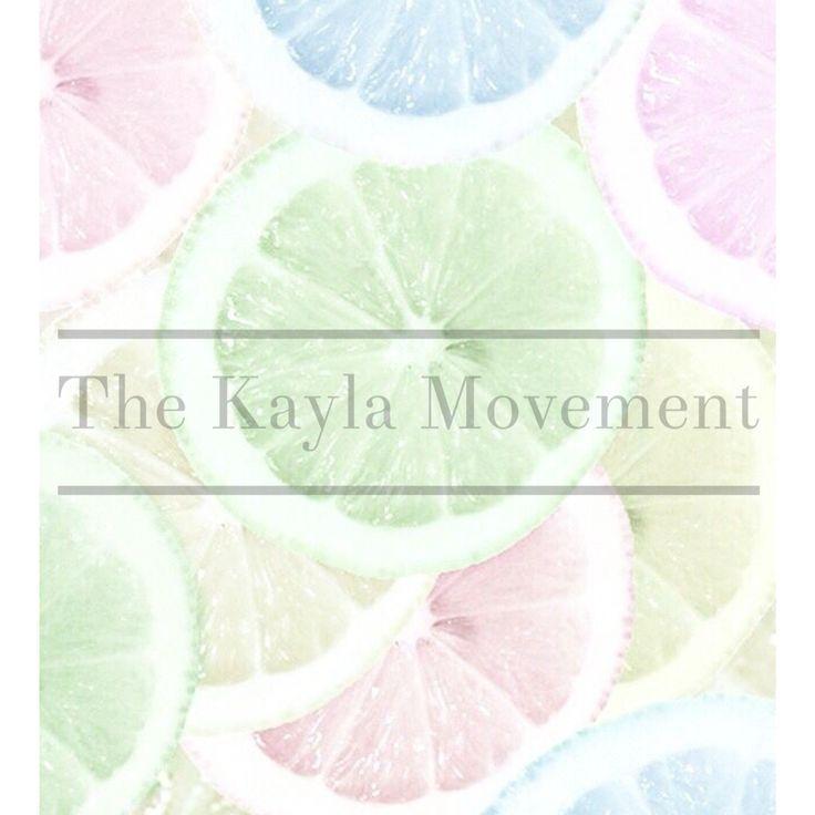 #kaylaitsines The Kayla Movement