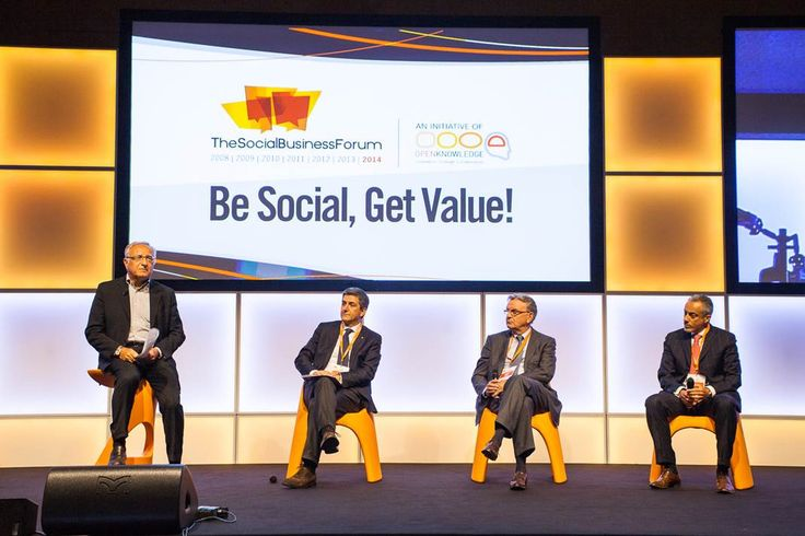 The AMÉLIE seats design Italo Pertichini and KONCORD stool were on stage of the Social Business Forum two days dedicated to customer engagement and social innovation! - Organised by #OpenKnowledge @italopertichini