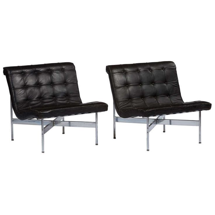 Pair Of Laverne New York Lounge Chairs