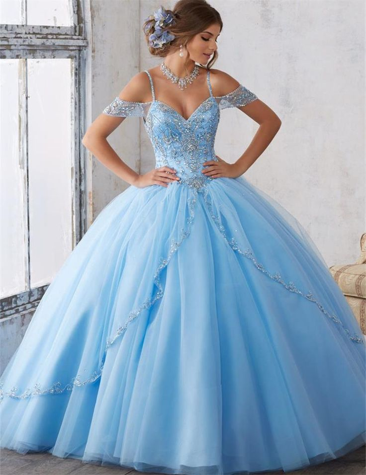 Encontrar Más Vestidos de quinceañera Información acerca de Azul Vestidos de Quinceañera 2017 Piedras V Cuello Del vestido de Bola Piso Longitud cereza partido vestido de fiesta vestidos de 15 anos sweet 16 vestidos, alta calidad dress up dress, China dress up party decorations Proveedores, barato dresses missoni de Fantastic Wedding Dresses Store en Aliexpress.com