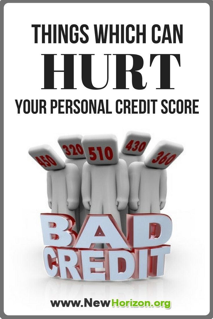 To be able to maintain good credit score, it's very important to KNOW what are the things that can hurt your credit score.
