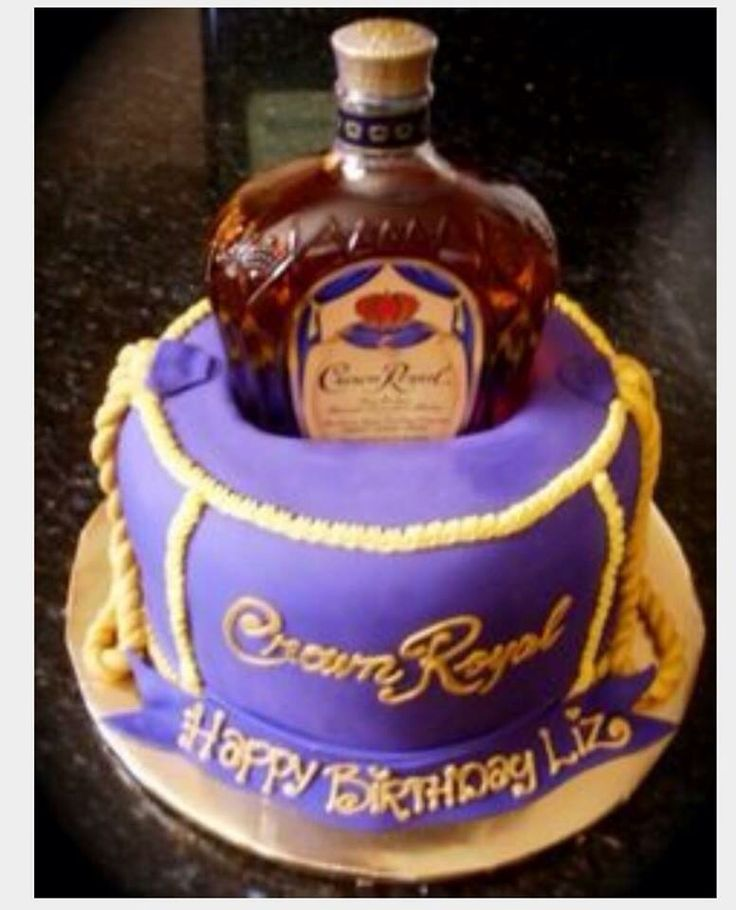 The 25 best Crown royal cake ideas on Pinterest Crown royal