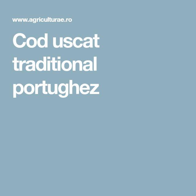Cod uscat traditional portughez