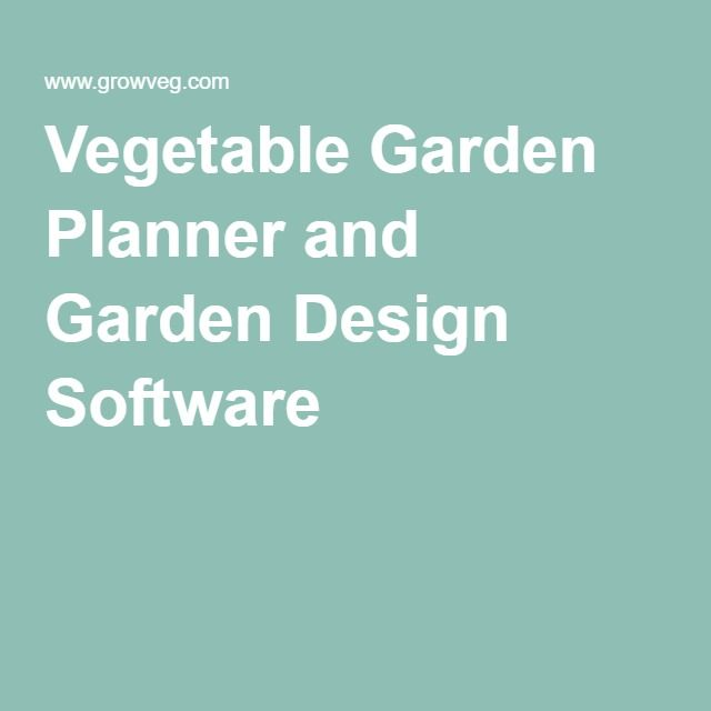 25 best ideas about Garden design software on Pinterest