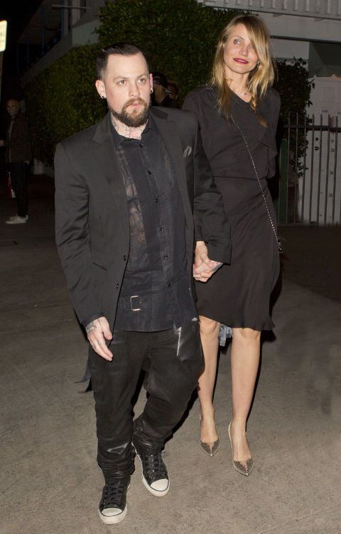 Benji Madden and Cameron Diaz. See 18 more celebrity ladies who are taller than the leading men in their lives.