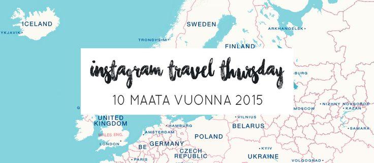 Instagram Travel Thursday | La Vida Loca 2.0 Matkablogi | www.sarrrri.com