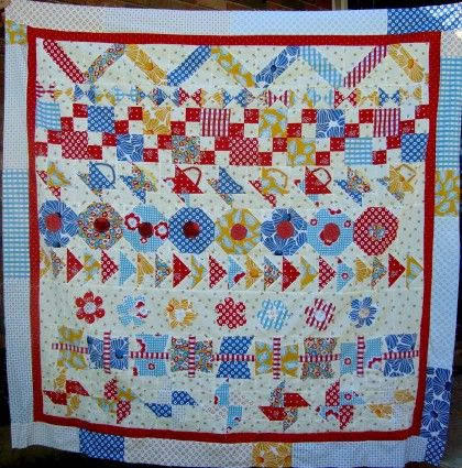 102 best Quilts: Round Robin & Row Robin Ideas images on Pinterest ... : row quilts patterns free - Adamdwight.com