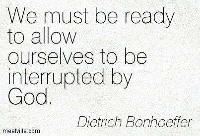 Pentecost 4  Bonhoeffer 5