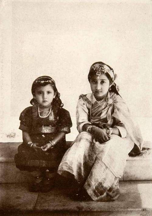 Princess Purnima & Jyotsna of Cooch Behar
