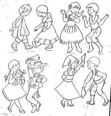 Mi experiencia como educadora: Bailes Tipicos Chilenos