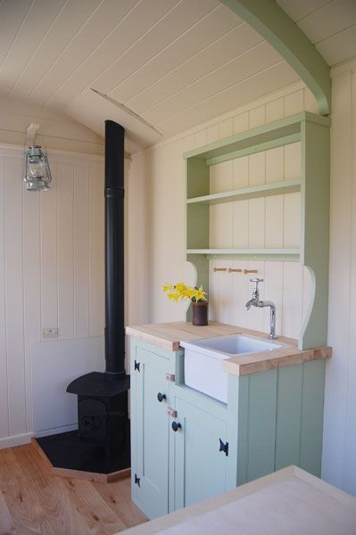 A dresser unit is a wonderfully traditional and stylish accessory for your Plankbridge shepherds' hut