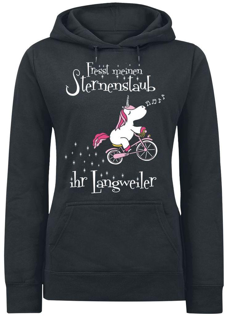 Fresst meinen Sternenstaub ihr Langweiler Sweat-shirt à capuche à commander dès maintenant chez EMP !