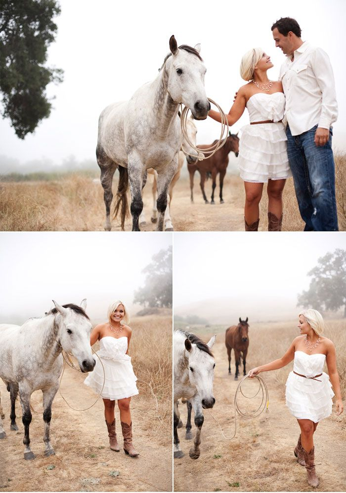 Dreamy Ranch Engagement Shoot for your Rustic Country Couple #engagement #wedding