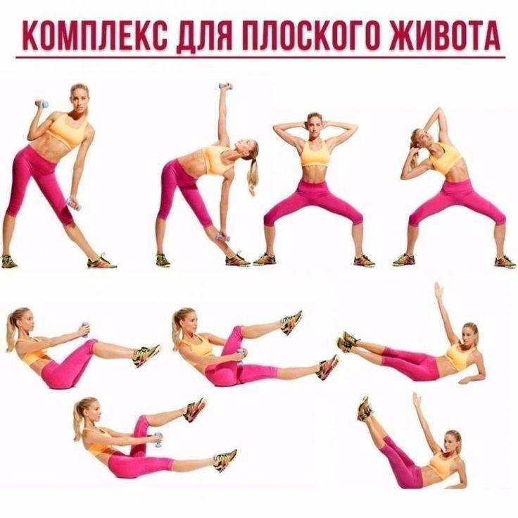 Эффективные домашние упражнения для похудения