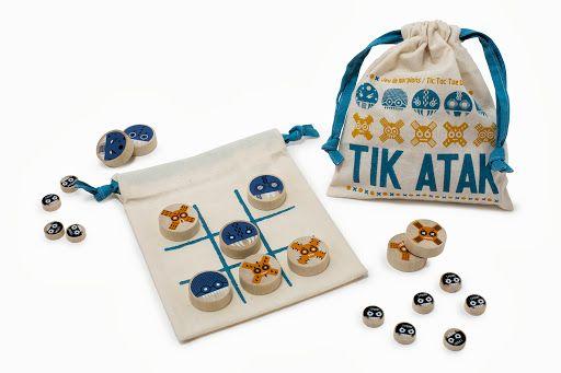 TIK ATAK - Jeu du Morpion - Tic-Tac-Toe - Naughts & Crosses