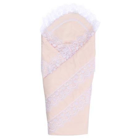 """Плакса Конверт-одеяло Нежность  — 2870р. ----------------------- Конверт-одеяло """"Нежность""""розовогоцвета марки Плакса для девочек. Конверт на липучке, выполненный из чистого хлопка, дополнен подкладкой из холлофайбера, которая обеспечивает хорошую вентиляцию и терморегуляцию. Изделие декорированонежным кружевом.Конверт на выписку в дальнейшем можно использовать как одеяло для малышки. Размер: 105х105 см."""