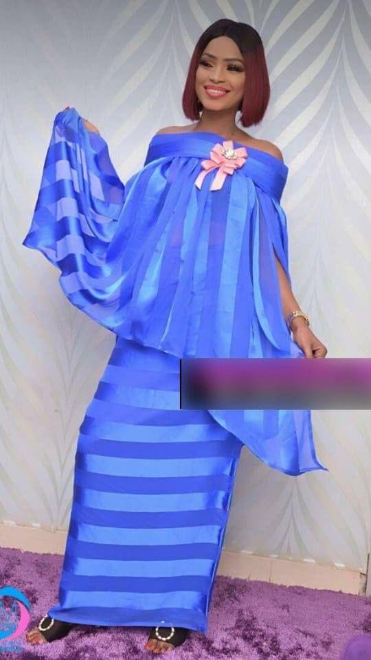 (30 Photos)  Mode tabaski 2018 Mbathio Ndiaye met la barre très haute  avec ces modèles à couper le souffle \u2013