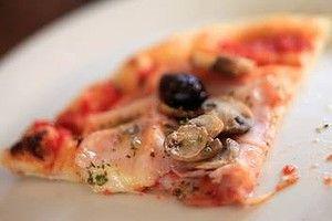 Capriciosa pizza from Kaprica pizzeria in Carlton.
