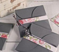 Original caja para CDs o invitaciones de boda