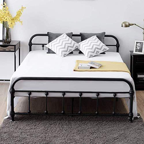 Amazing Offer On Giantex Queen Size Platform Bed Frame Metal Bed