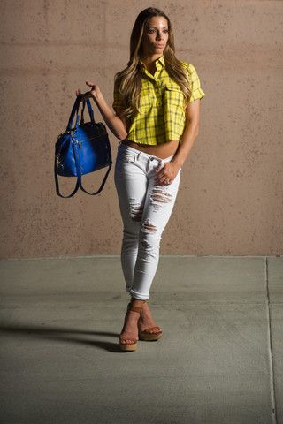 Take Me to the Ballgame Jeans – The BB Boutique
