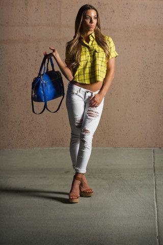 Take Me to the Ballgame Jeans – The BB Boutique