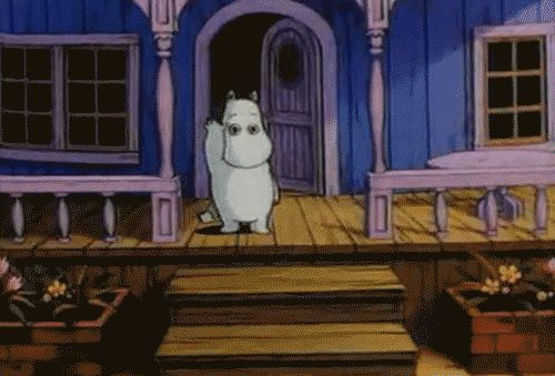 Moomins. My childhood. I liked this show but it was kinda creepy at the same time lol